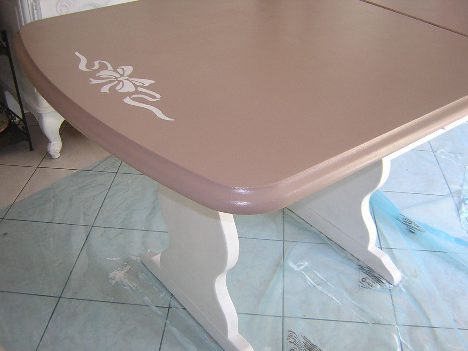 suite au buffet : ma grande table
