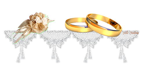 pour un mariage.....