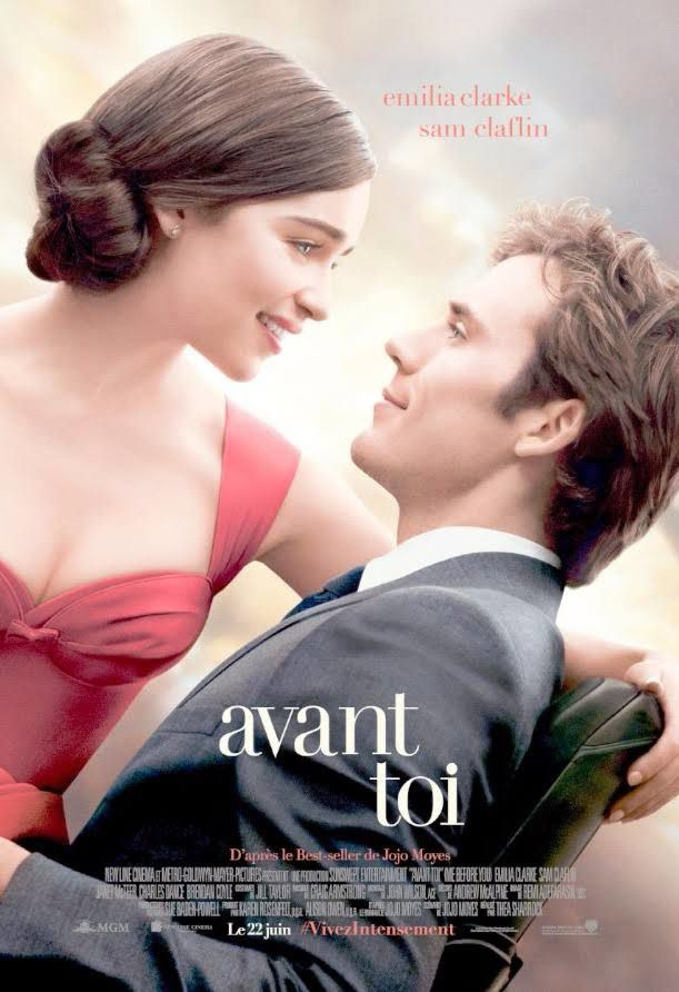 coup de coeur film : avant toi (me before you) et au nom de ma fille