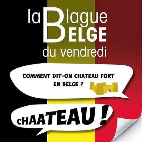 Blague belge: le château fort
