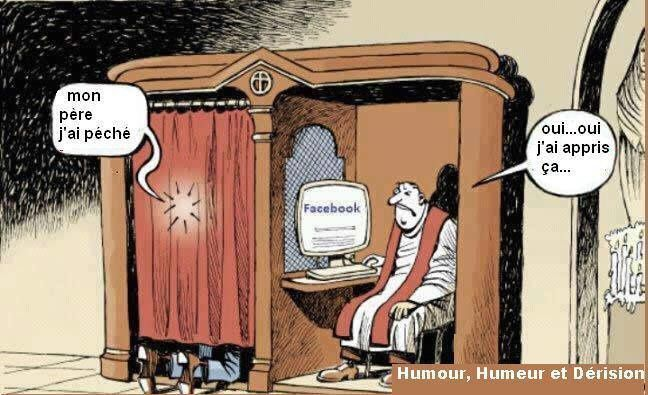 confession et facebook