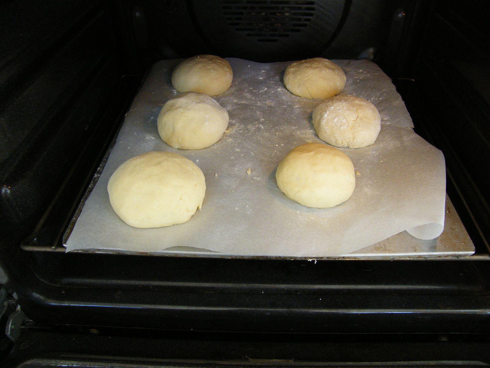 Petits pains pour burgers (avec le companion ou pas)
