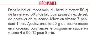 Sauce Béchamel au companion