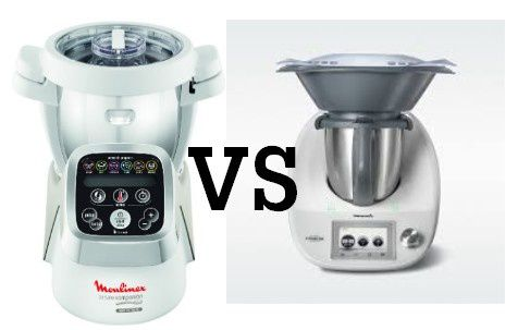 Comparaison tm5 thermomix et companion moulinex