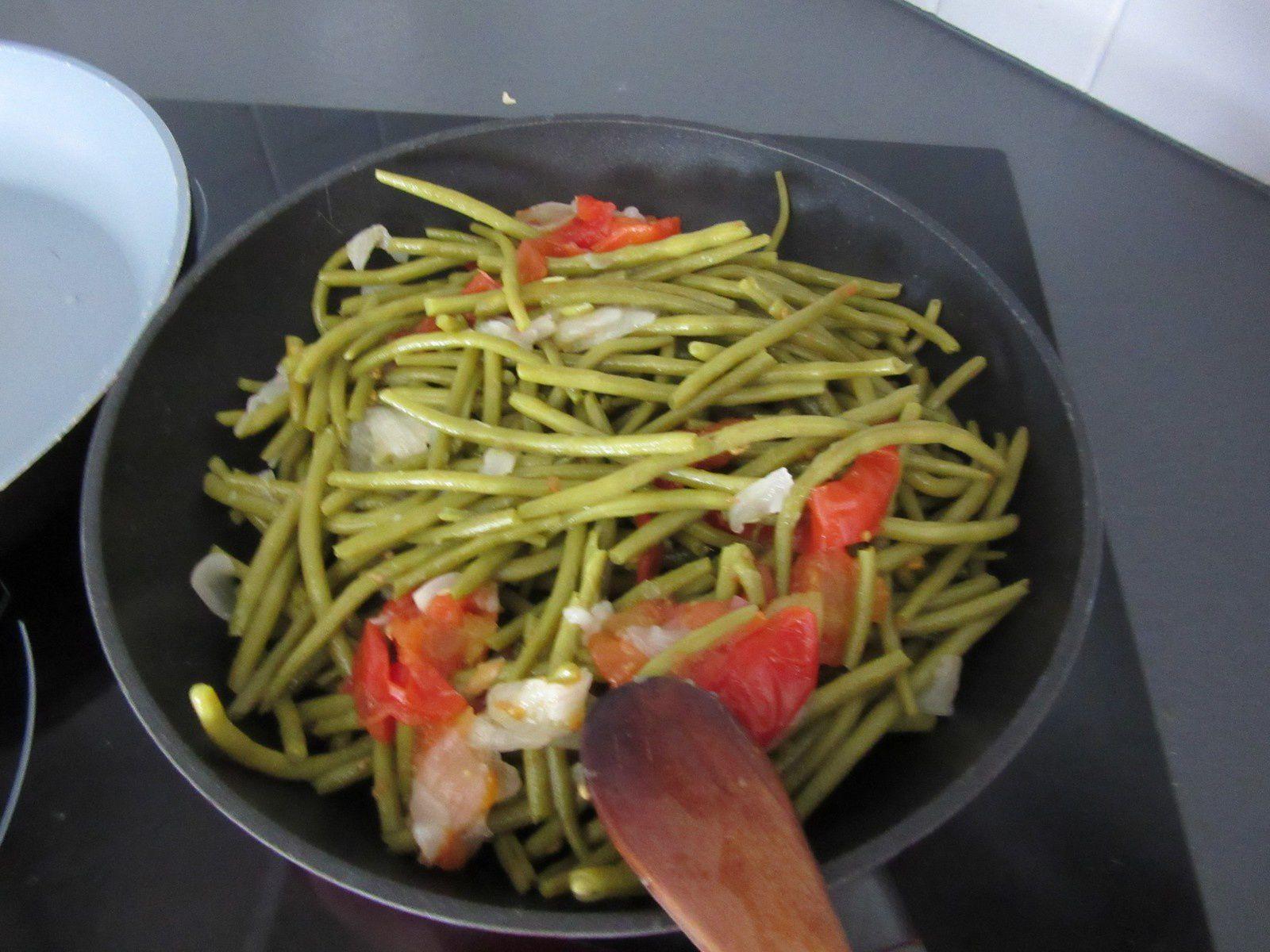 Préparer des haricots du jardin, recette savoureuse.