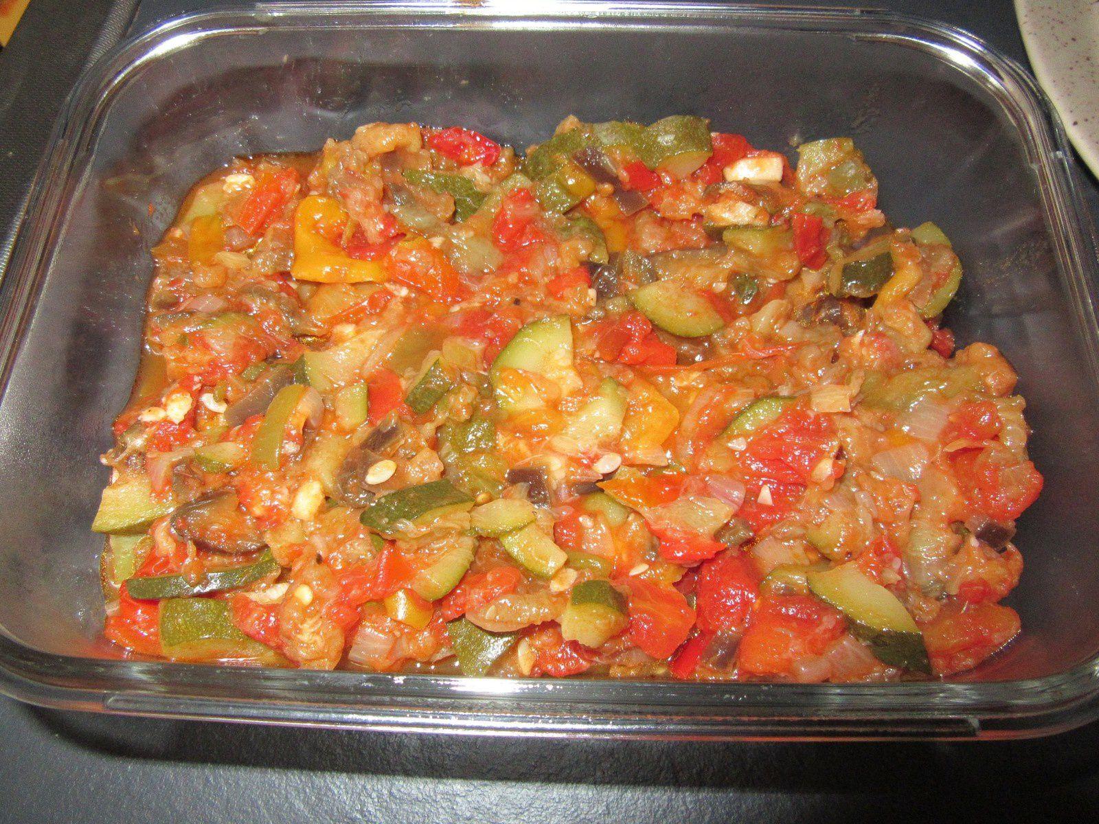 Recette de la ratatouille au cook o mes meilleures recettes faciles - Recette de noel au cookeo ...