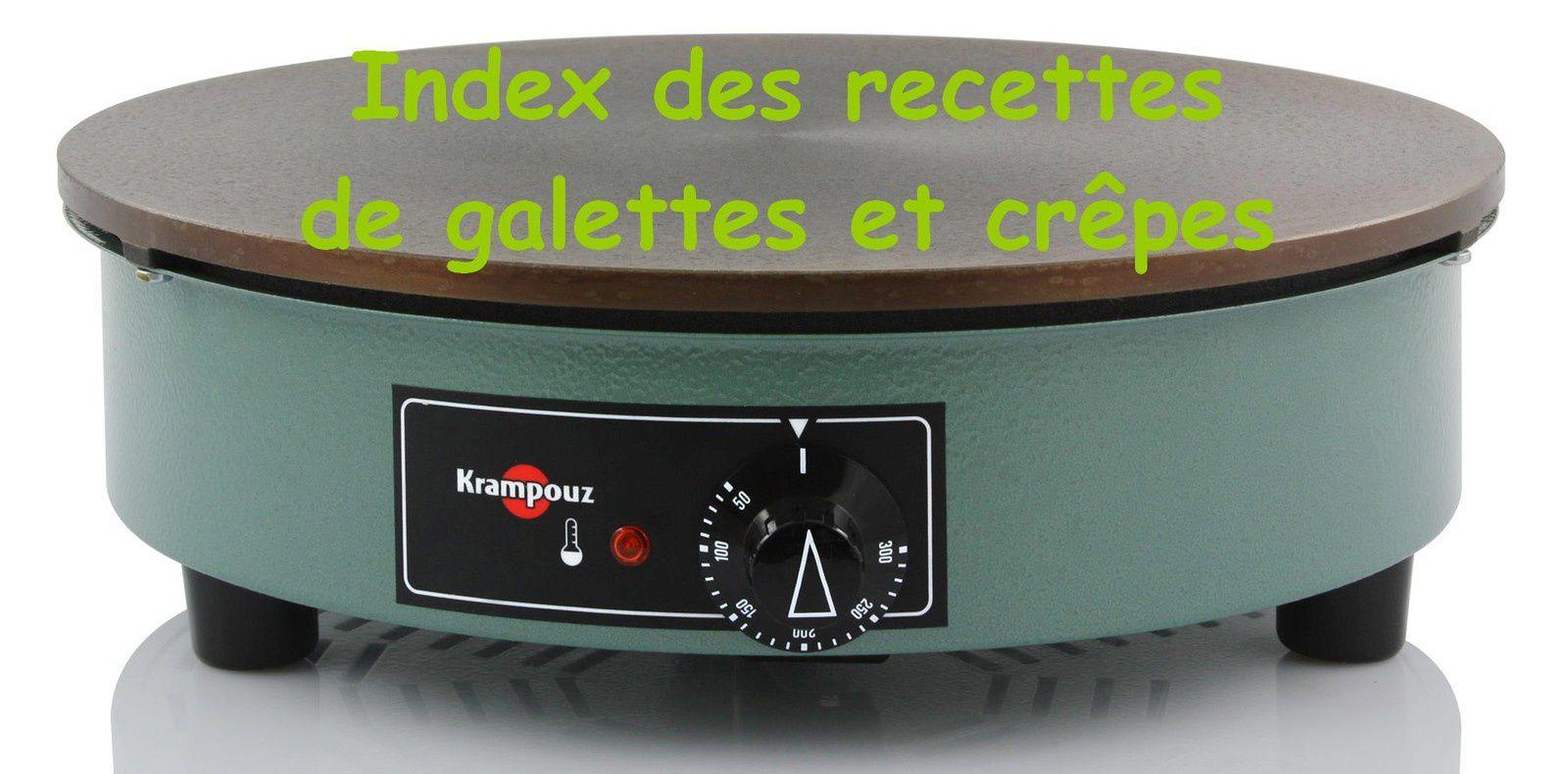 INDEX CREPES ET GALETTES (vive la Bretagne)
