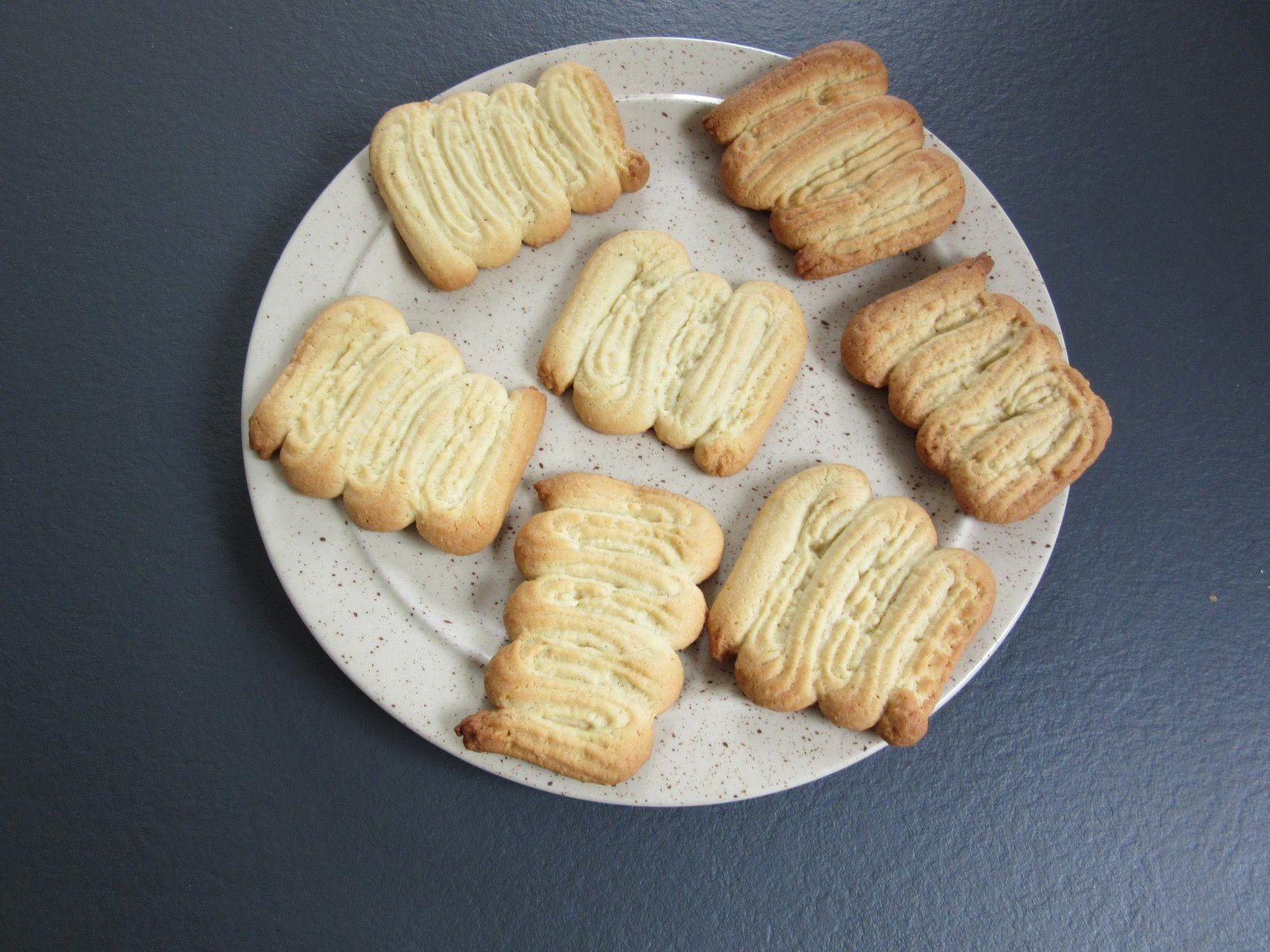 Recette des biscuits spritz au companion moulinex (ou pas)
