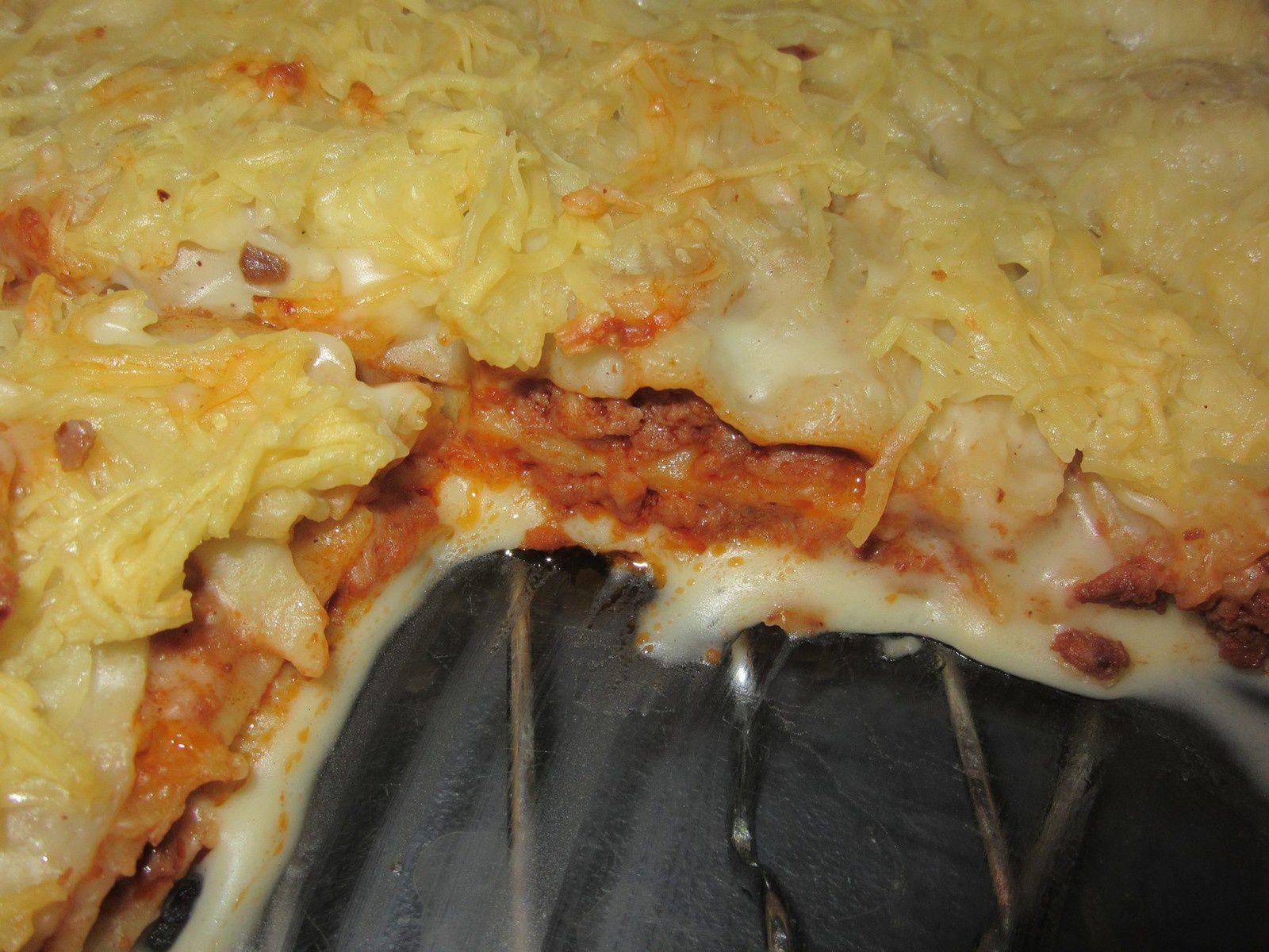 Lasagnes à la bolognaise au companion