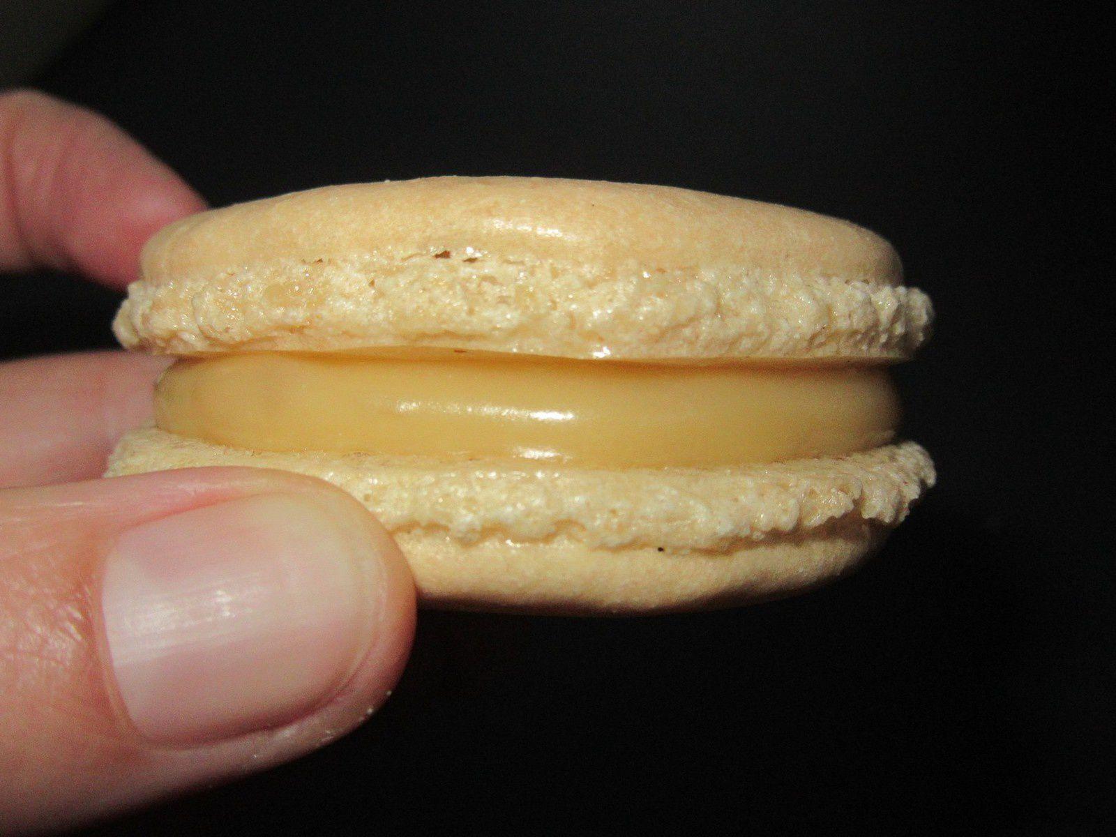 Crême à la vanille pour macaron (ganache au companion)