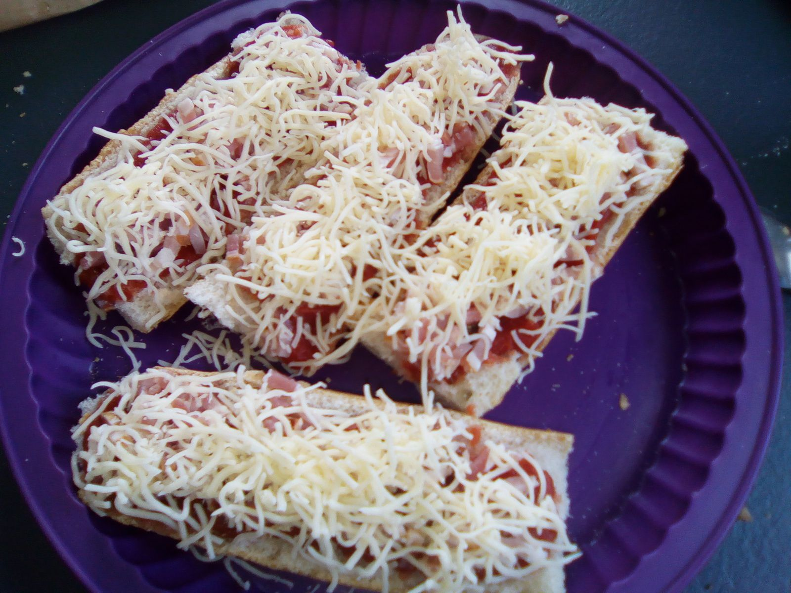 Pain pizza (recette anti gaspi)