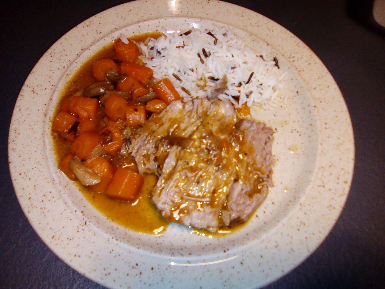 Rôti de porc échine au cookéo
