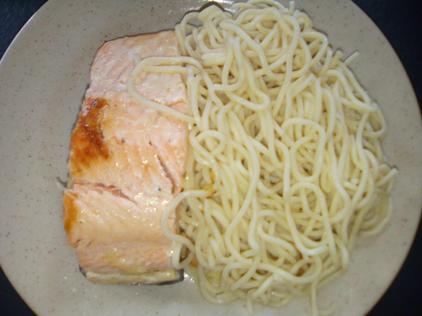 Spaghettis avec le philips pasta maker