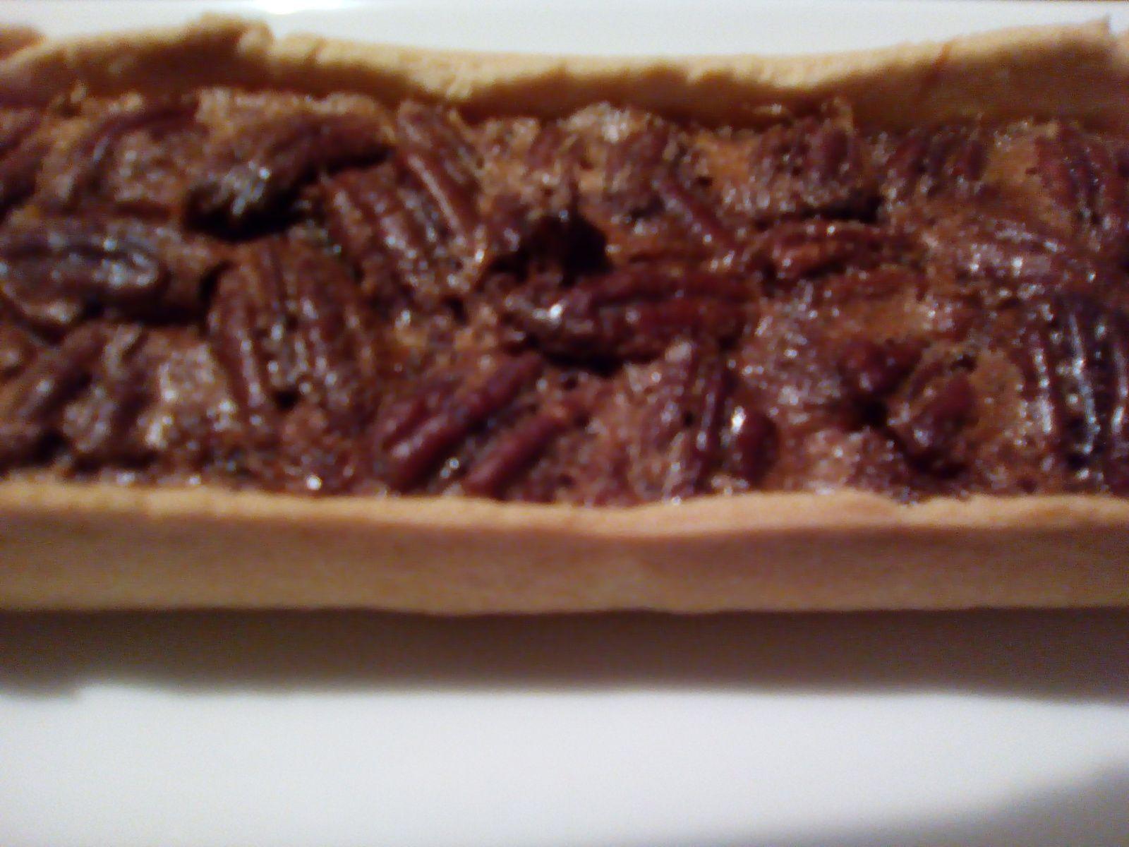 Pecan pie ou tarte aux noix de pécan