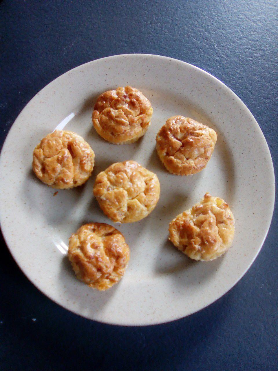 muffins aux lardons au companion ou pas