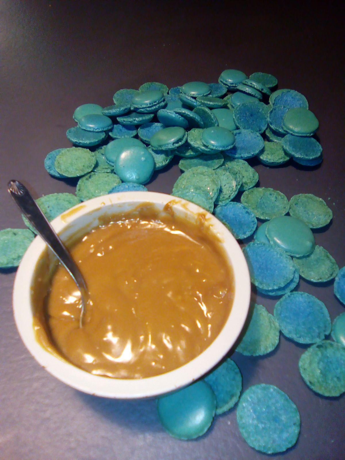 Crème au café pour fourrer des macarons (au companion ou pas)