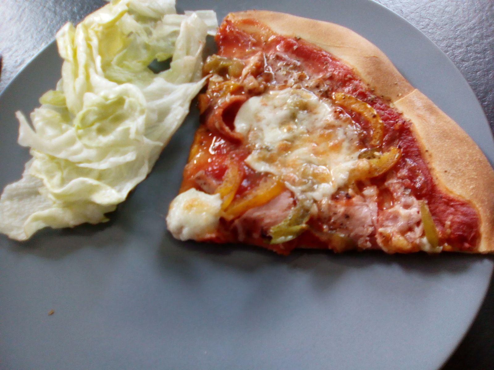 Recette de pizza jambon tomates mozarella (au companion ou pas)
