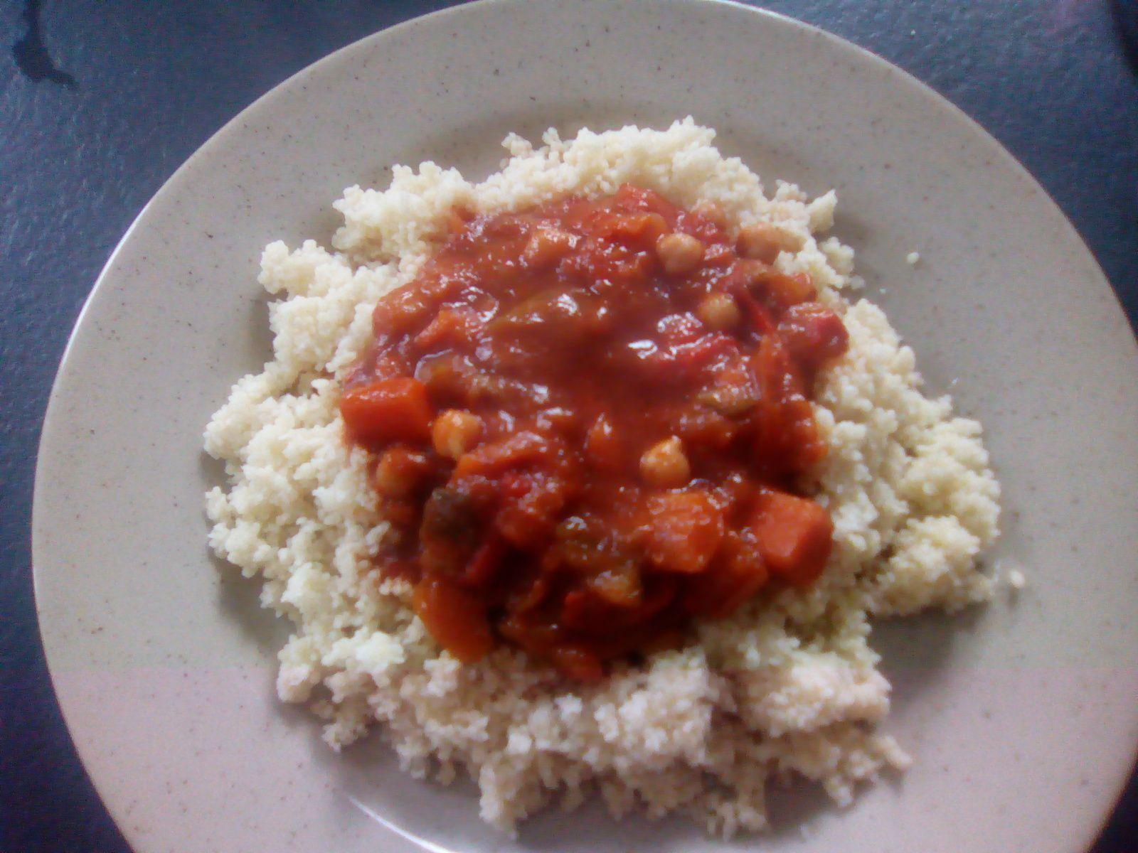 Couscous végétarien express au cookéo (recette light)