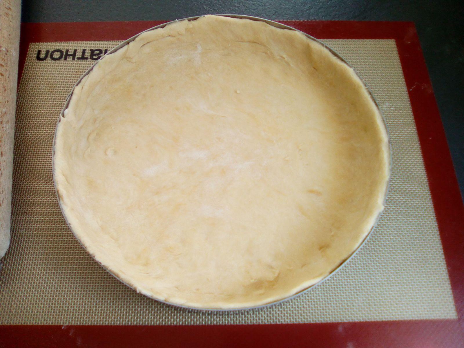 Pâte à tarte allégée (recette light)