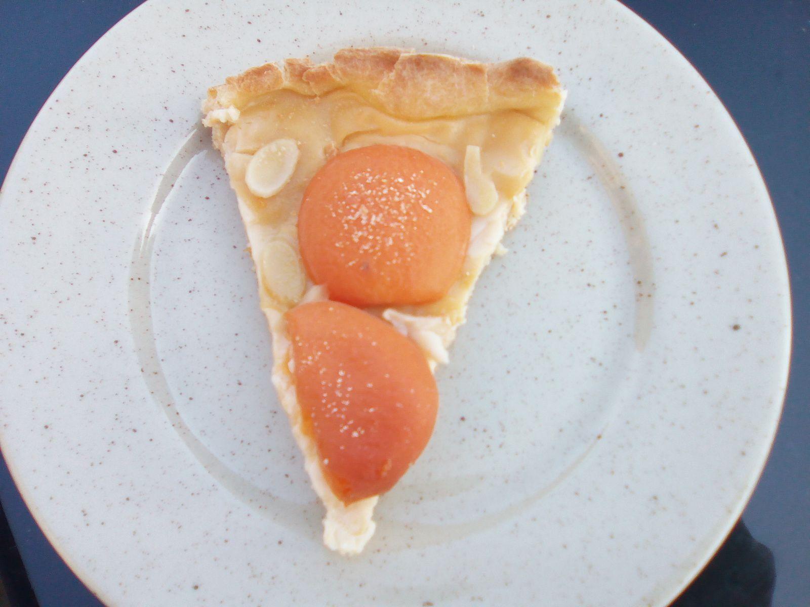 Tarte à l'abricot au companion  ou pas