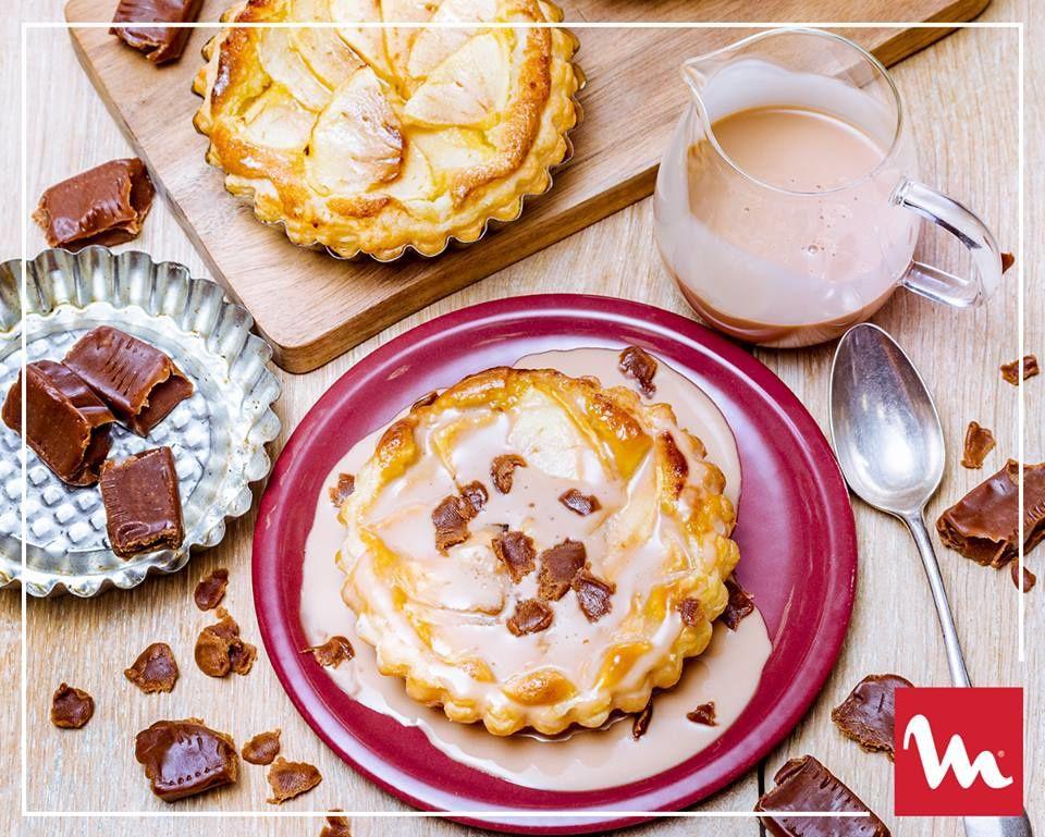 tartelettes amandine pommes et caramel companion moulinex