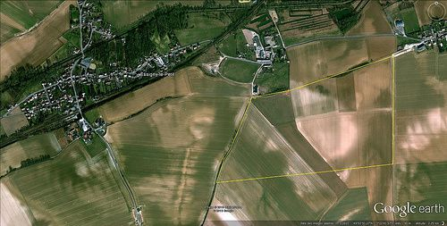Un terrain d'aviation à Essigny-le-Petit