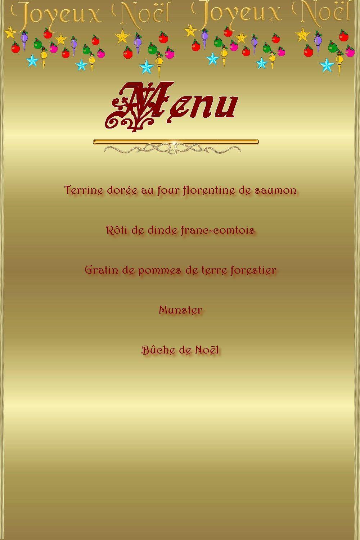 Le menu de Noël au restaurant scolaire