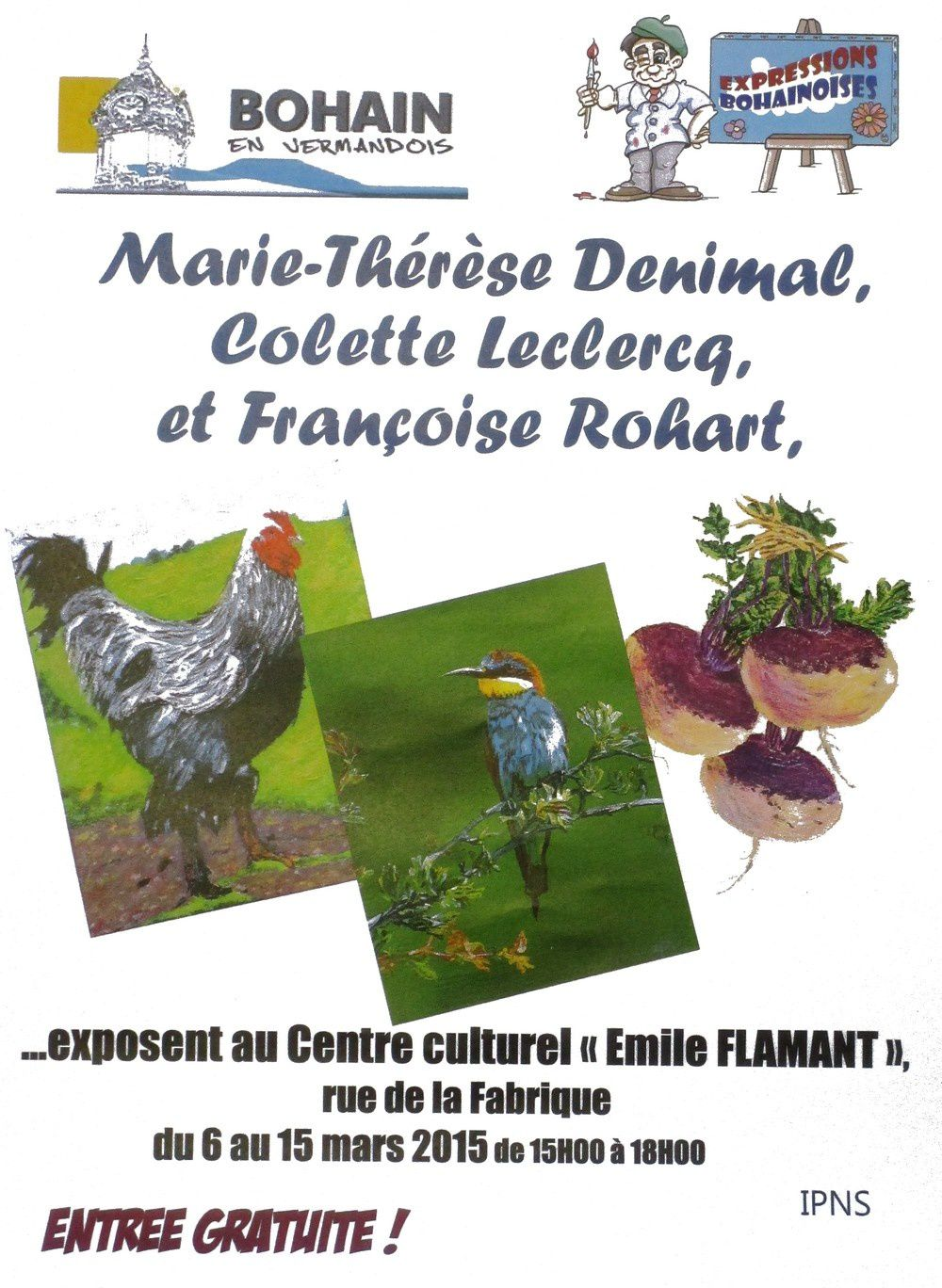 Marie-Thérèse Denimal expose