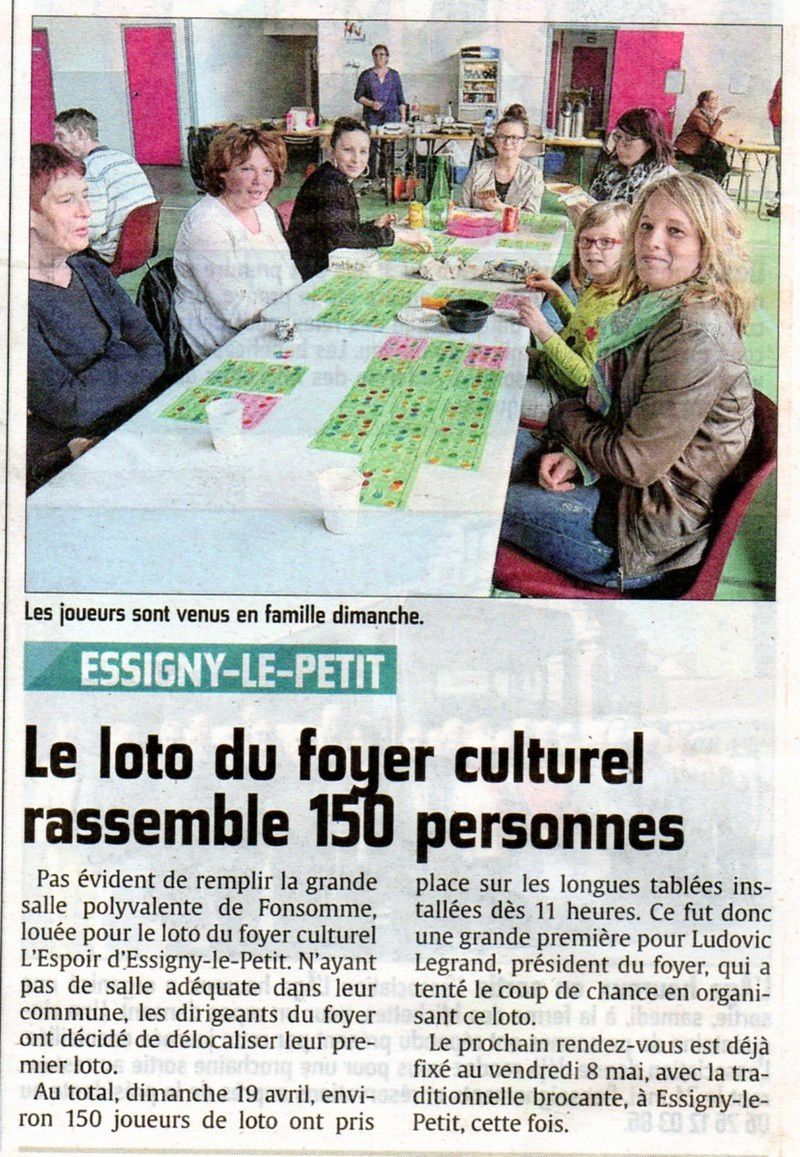 Le Courrier picard du 21 avril