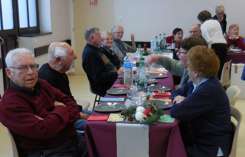 Le repas des aînés