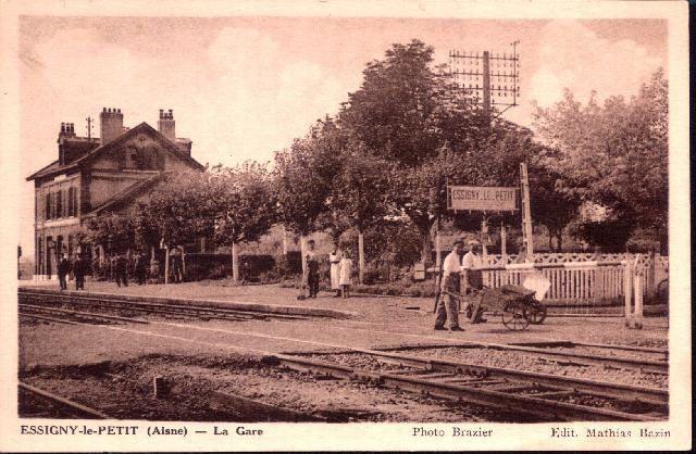 La gare entre les deux guerres (Collection jph)