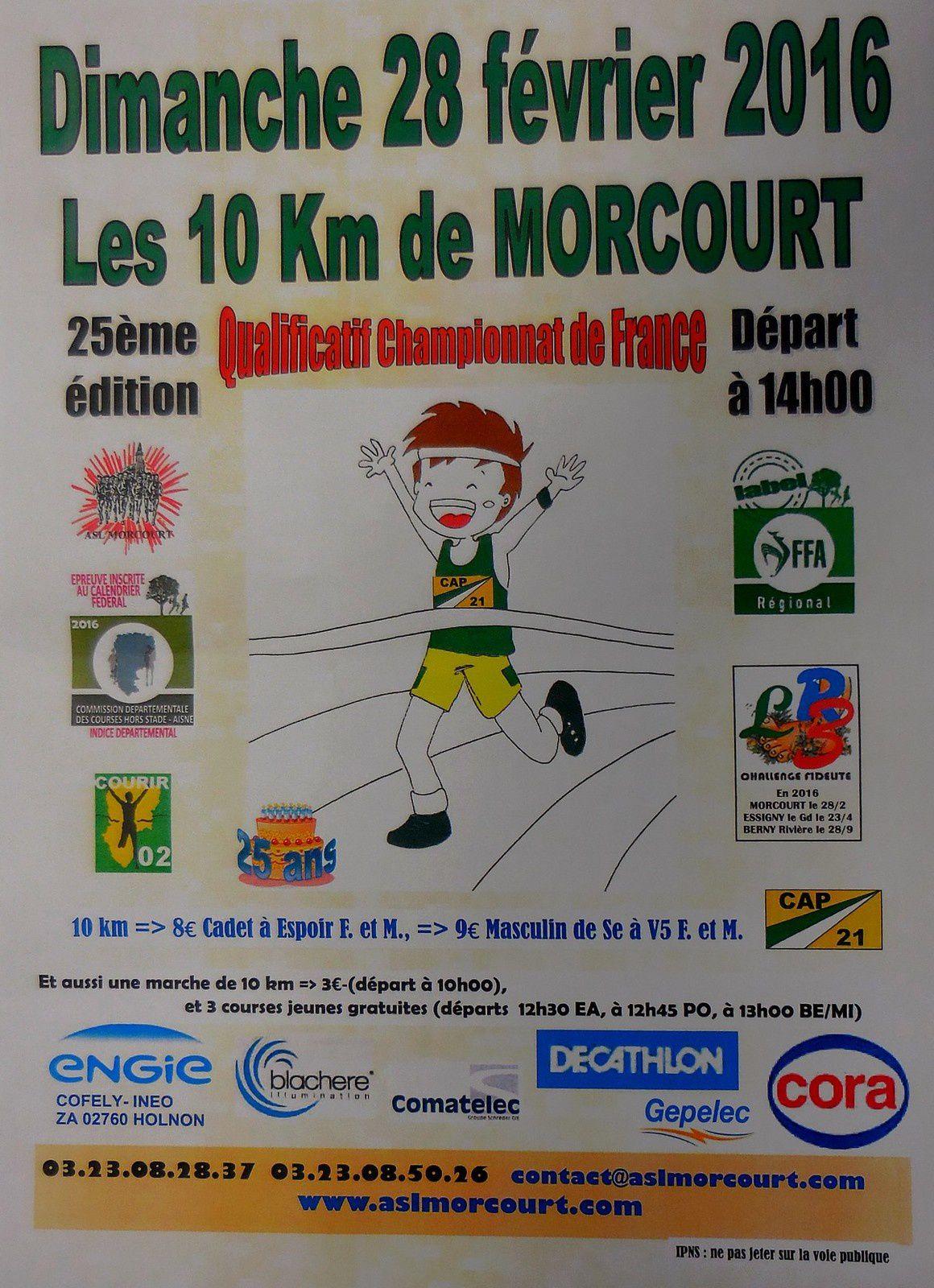 Les 10 km de Morcourt