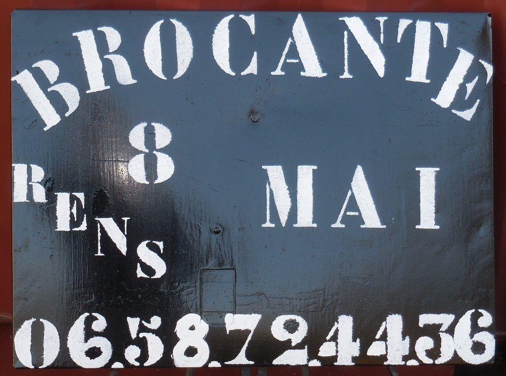 Brocante : dernières inscriptions &quot&#x3B;spécial Essignyacois&quot&#x3B;