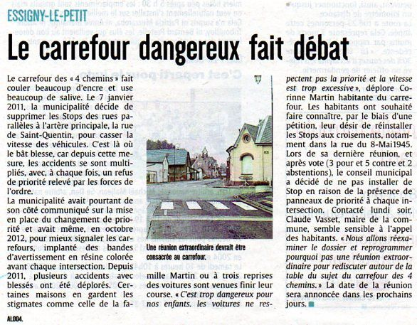 Le Courrier picard du 21 septembre 2016