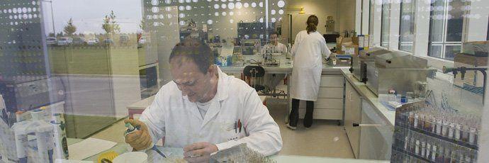 Le laboratoire départemental