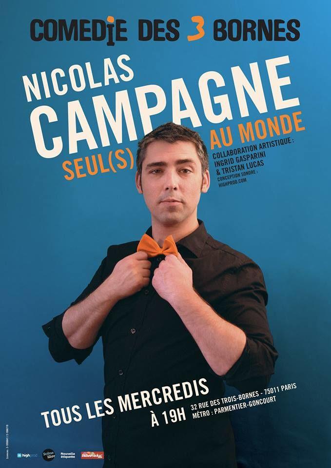 Nicolas Campagne dans &quot&#x3B;Seul(s) au monde&quot&#x3B;
