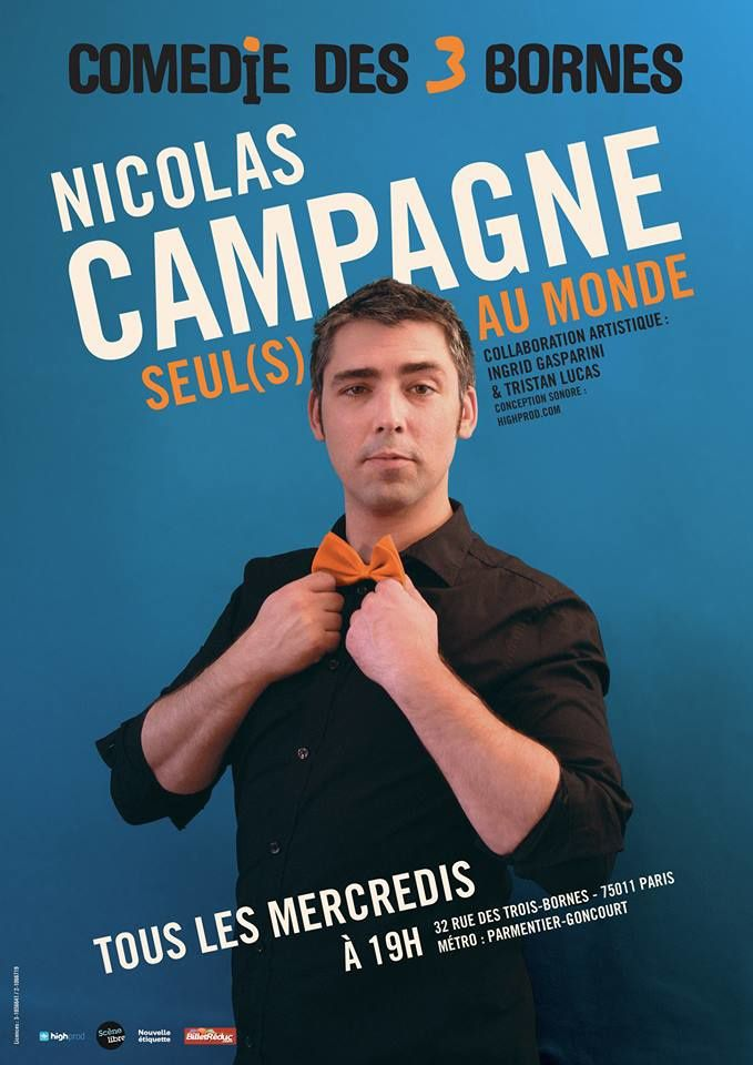 "Nicolas Campagne dans ""Seul(s) au monde"""