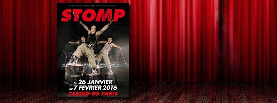 [Spectacle] Le phénomène STOMP au Casino de Paris