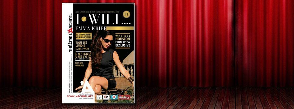 [Spectacle] Emma Krief dans « I will… »