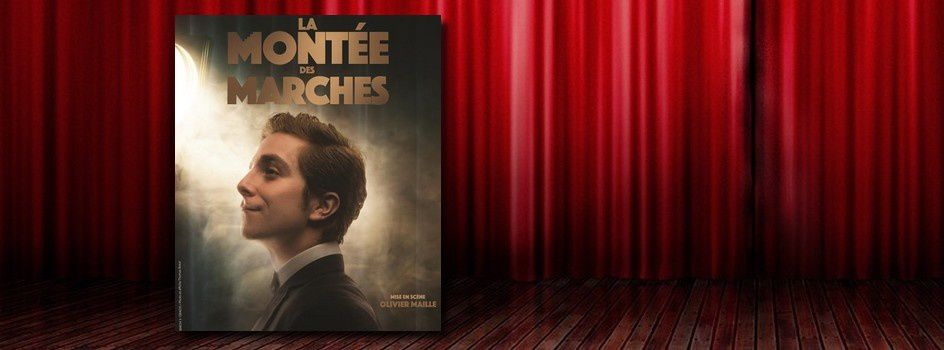 #Théâtre - Mathias Pradenas dans 'La montée des marches'