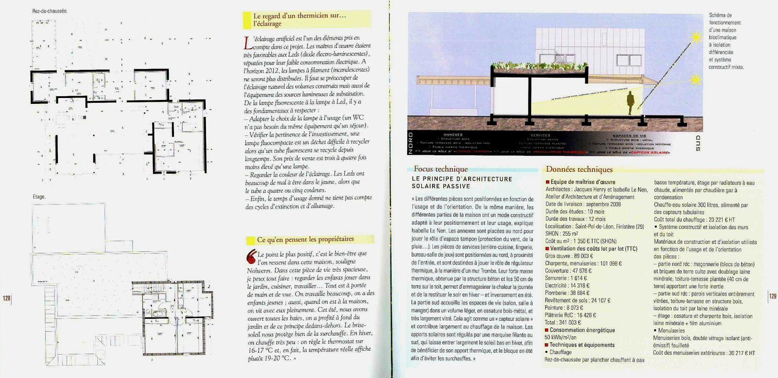 """""""20 Maisons à économie d'énergie"""" - Maison 26-19"""