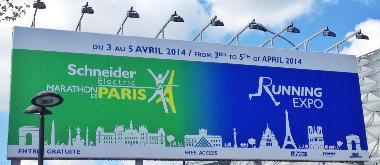 Marathon de Paris 2014 en mode tourisme