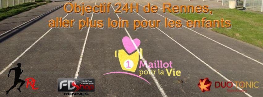 Objectif 24H de Rennes, aller plus loin pour les enfants