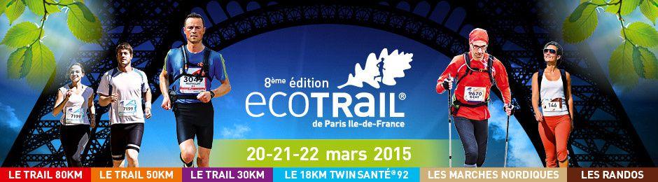 50km Ecotrail Paris 2015 une promenade avant les 24h
