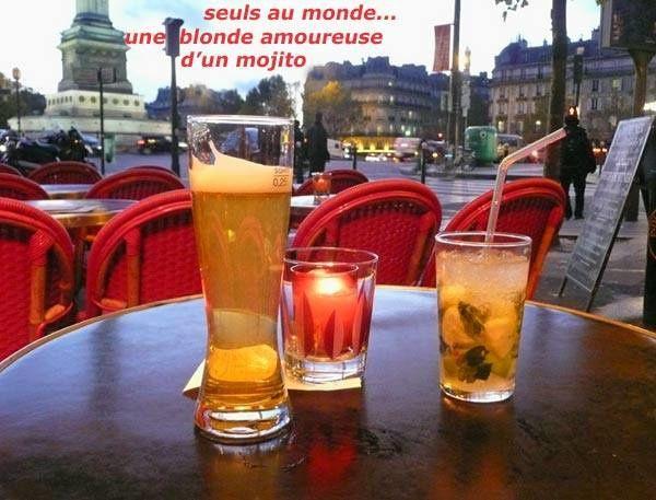 Terrasse à Paris...