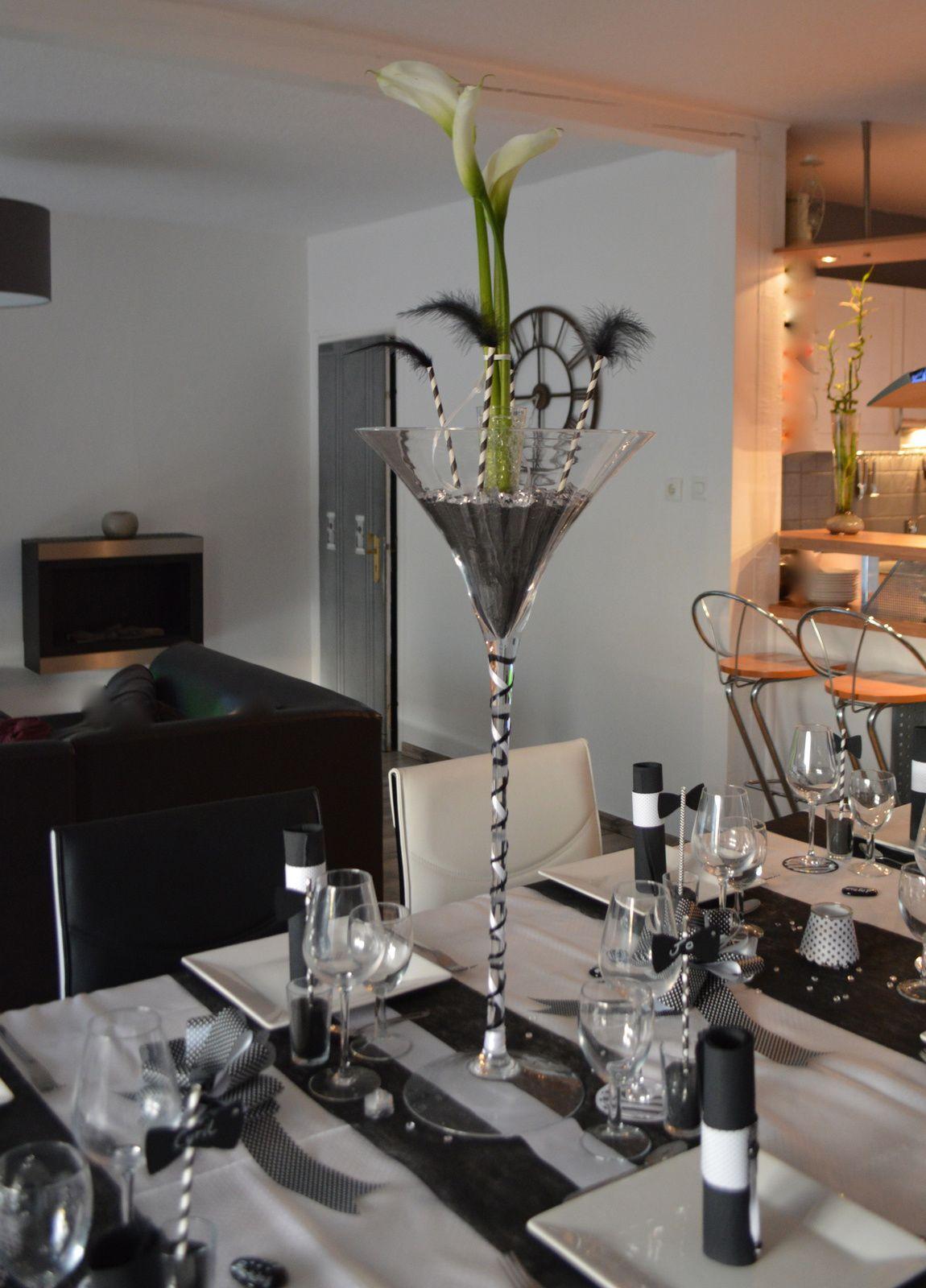 Déco de table Black &amp&#x3B; White