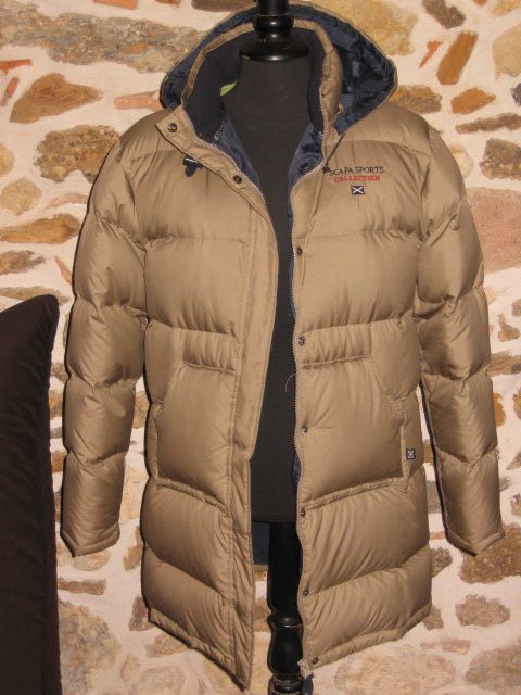 Doudoune beige Scapa sports collection