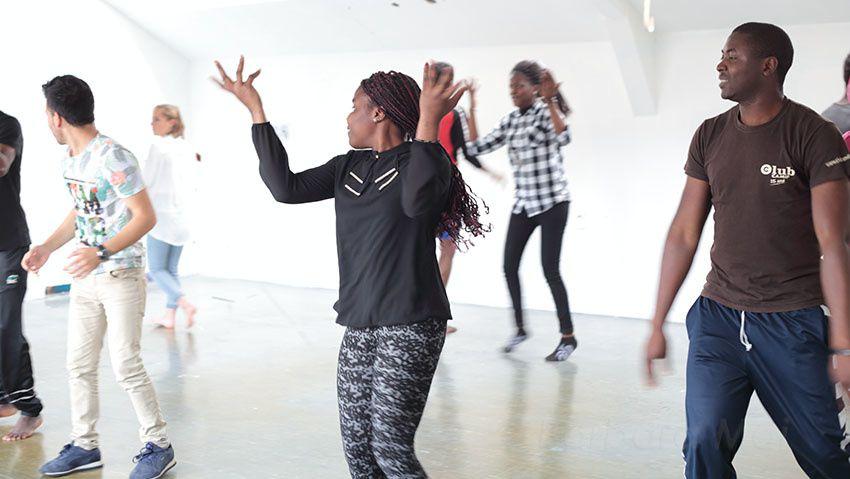Danse à tous les étages - Portraits en mouvement