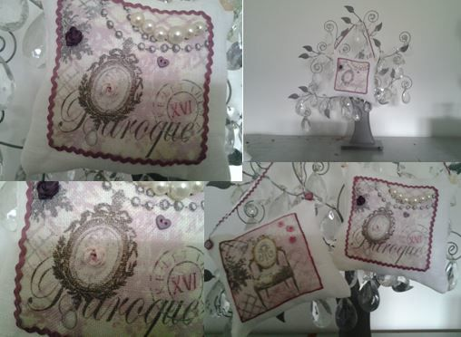 coussin Baroque