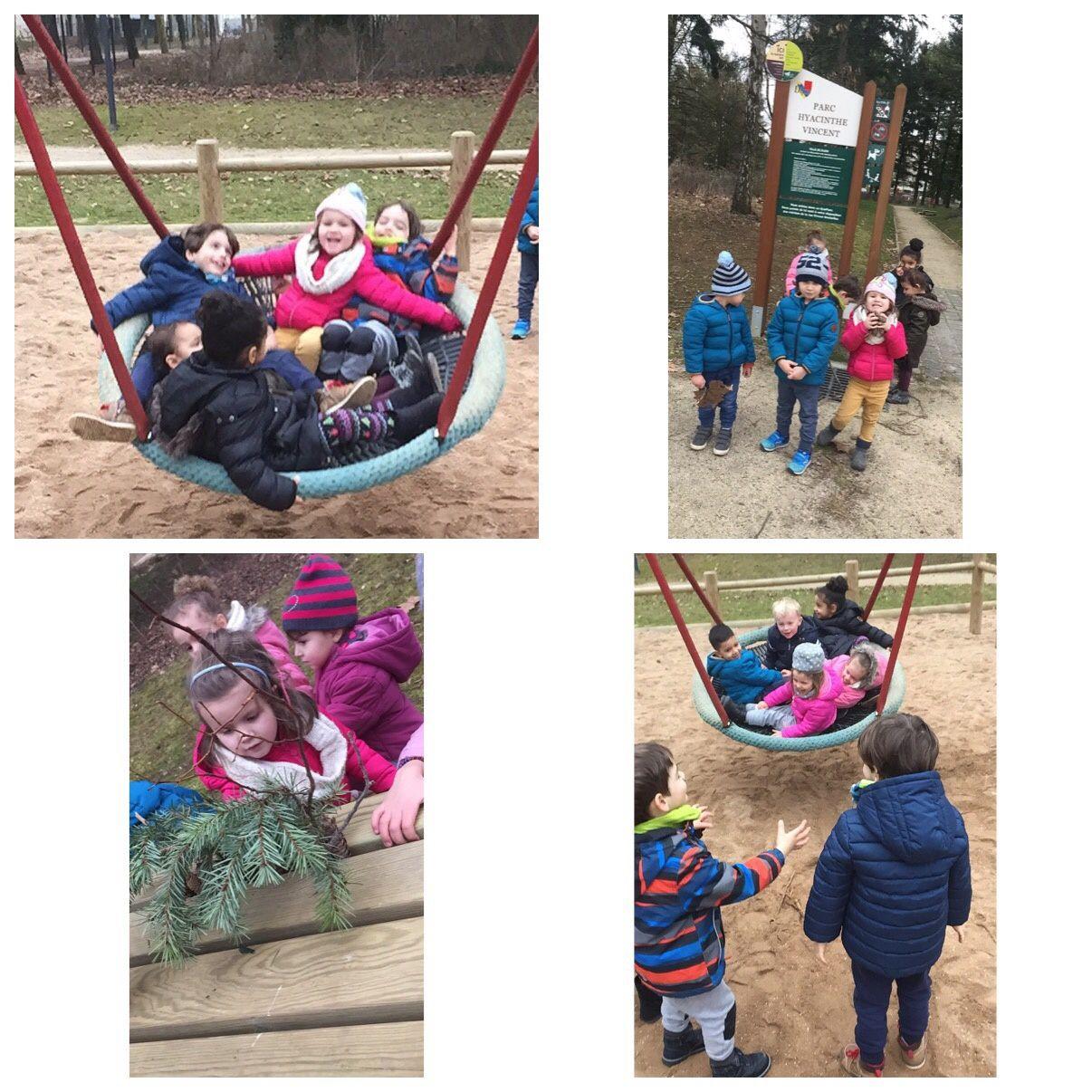 Balade au parc pour les petits